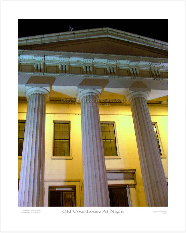 Old Courthouse At Night