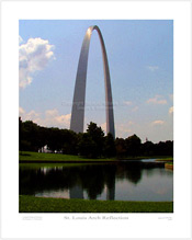 St. Louis Arch Reflection