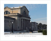 St. Louis Art Museum In Winter