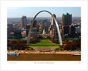 St. Louis Skyline - Plate 1